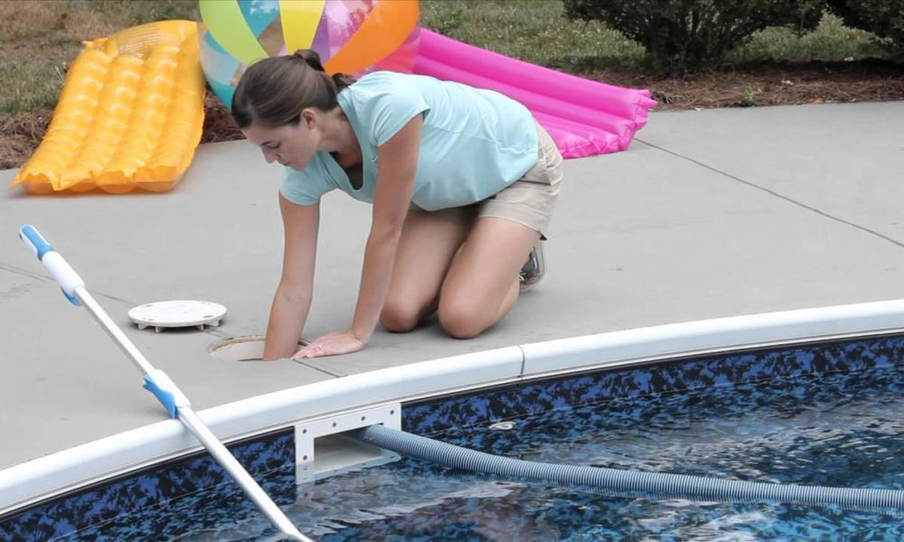 Vacuuming The Pool